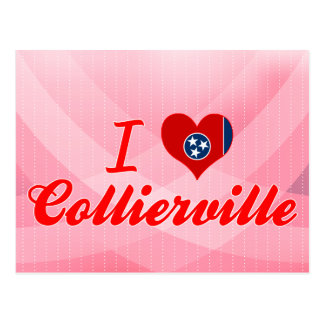 I Love Collierville, Tennessee Post Card