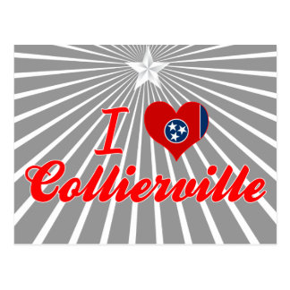 I Love Collierville, Tennessee Postcards