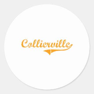 I Love Collierville Tennessee Round Sticker