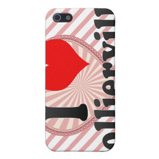 I Love Collierville, United States Cases For iPhone 5