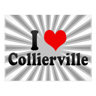 I Love Collierville, United States Postcards