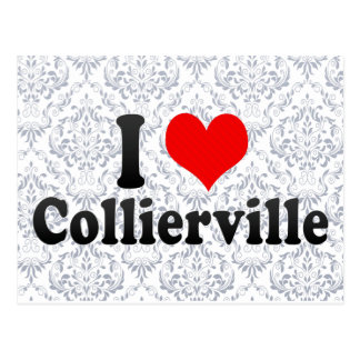 I Love Collierville, United States Postcard