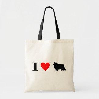I Love Collies Bag