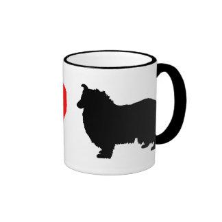 I Love Collies Mug