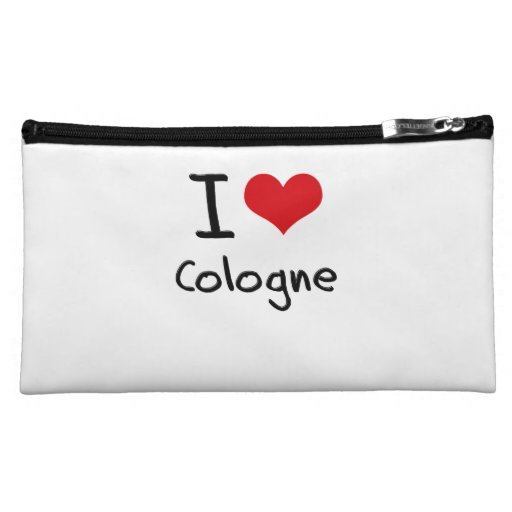 I love Cologne Makeup Bags