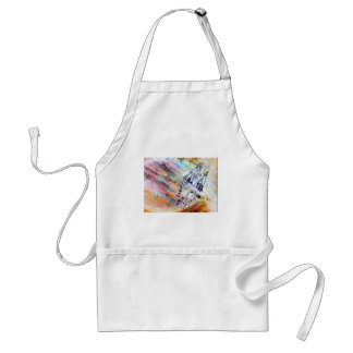 I Love Cologne cathedral Adult Apron
