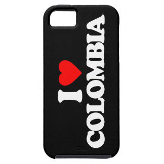 I LOVE COLOMBIA iPhone 5 COVERS