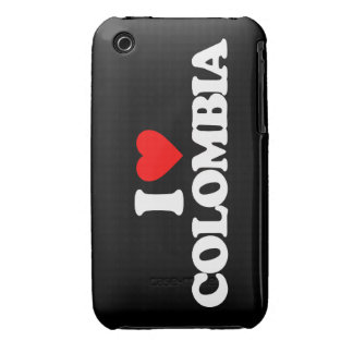 I LOVE COLOMBIA iPhone 3 Case-Mate CASES