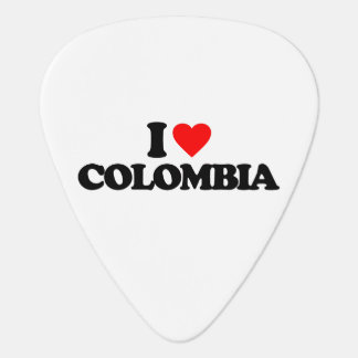 I LOVE COLOMBIA GUITAR PICK