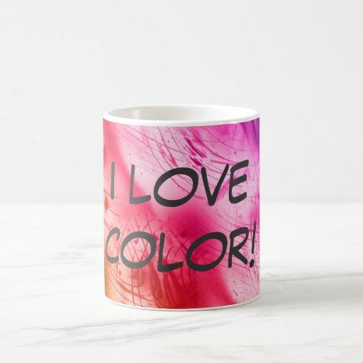I Love Color! Coffee Mug