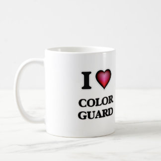I Love Color Guard Coffee Mug