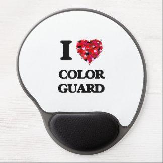 I Love Color Guard Gel Mouse Pad