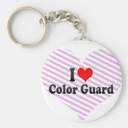 I love Color Guard Keychains