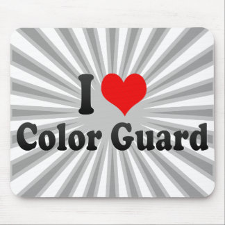 I love Color Guard Mouse Pad