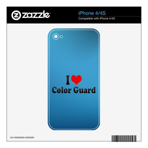 I love Color Guard Skin For The iPhone 4S