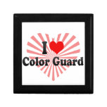 I love Color Guard Trinket Box