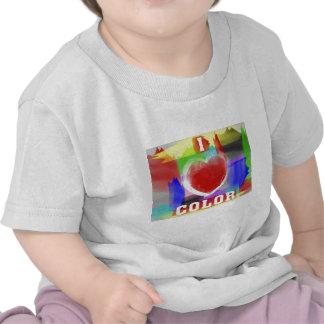 I Love Color Tee Shirt