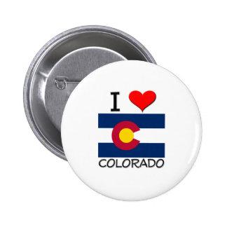 I Love Colorado Buttons