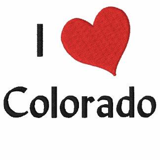 I Love Colorado Embroidered Shirt