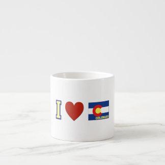 I Love Colorado Espresso Cup