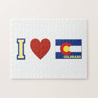 I Love Colorado Jigsaw Puzzle