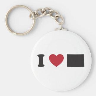 I Love Colorado Keychain