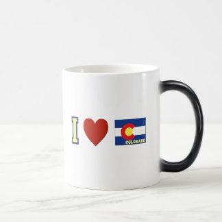 I Love Colorado Magic Mug