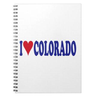 I Love Colorado Notebook