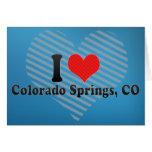 I Love Colorado Springs, CO Cards