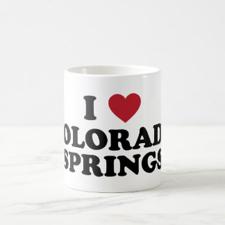 I Love Colorado Springs Coffee Mug