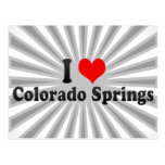 I Love Colorado Springs, United States Post Card