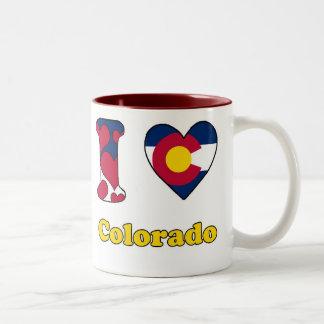 I love Colorado Two-Tone Coffee Mug