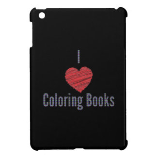 I Love Coloring Books iPad Mini Case
