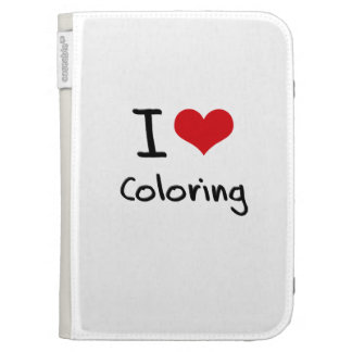 I love Coloring Kindle 3 Cases