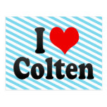 I love Colten Post Cards