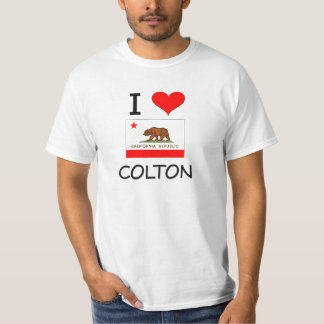 I Love COLTON California T-shirt