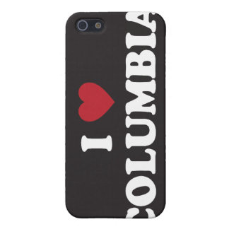 I Love Columbia iPhone SE/5/5s Cover