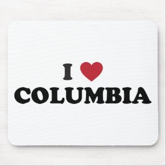 I Love Columbia Missouri Mouse Pad