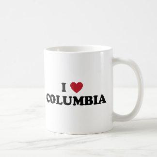 I Love Columbia Missouri Classic White Coffee Mug