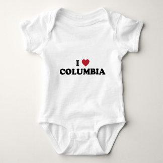 I Love Columbia Missouri Tee Shirt