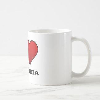 I LOVE COLUMBIA, MO- MISSOURI CLASSIC WHITE COFFEE MUG
