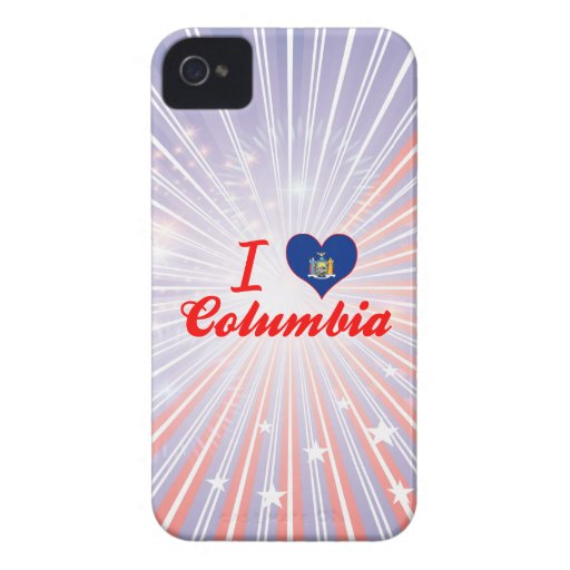 I Love Columbia, New York Case-Mate iPhone 4 Cases