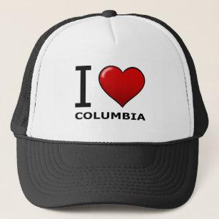 66785cf9 I LOVE COLUMBIA,SC - SOUTH CAROLINA TRUCKER HAT