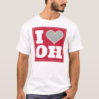 I Love Columbus Ohio T-Shirt
