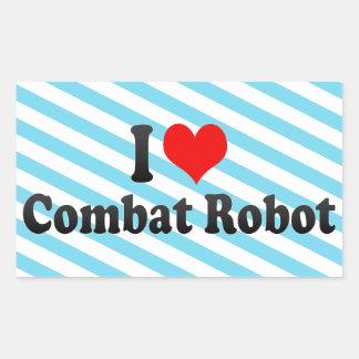 I love Combat Robot Stickers