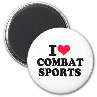 I love Combat Sports Magnets