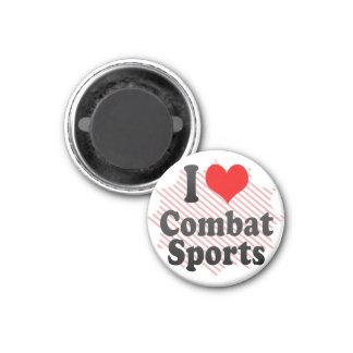 I love Combat Sports Magnet