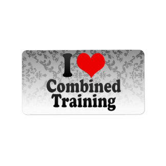 I love Combined Training Address Label