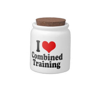 I love Combined Training Candy Jars