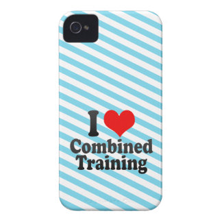 I love Combined Training iPhone 4 Cover